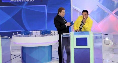 Programa Silvio Santos recebe Aguinaldo Timóteo e Falcão neste domingo (11)