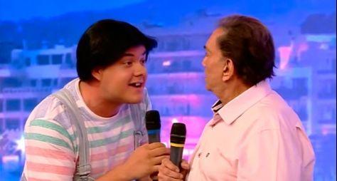 Como novo Zacarias, Gui Santana agrada direção da Globo
