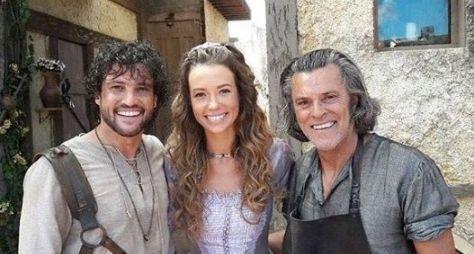 Juliana Didone e Alexandre Slaviero formam par em Belaventura
