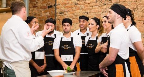 Elenco de Super Chef Celebridades tem primeiro workshop