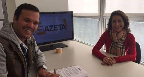 Gazeta contrata padre sertanejo para dominical