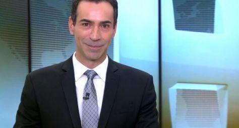 César Tralli deve ficar com a vaga de Evaristo Costa no Jornal Hoje