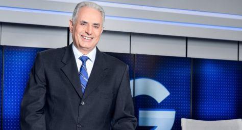 Saiba quando William Waack reassume o Jornal da Globo