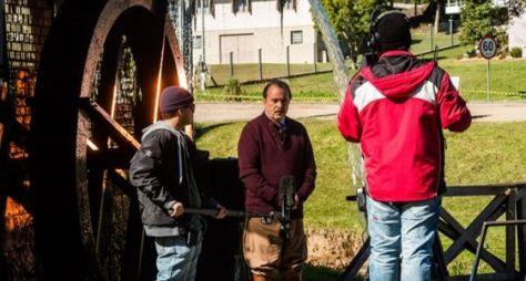 Globo grava cenas de Tempo de Amar no cenas no Rio Grande do Sul e em Niterói