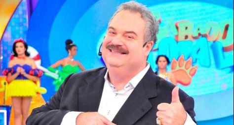 Gilberto Barros, o Leão, grava participação em Pega Pega
