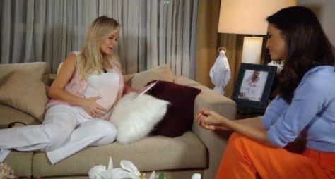 """""""Meu coração está mais calmo"""", diz Eliana em entrevista para seu programa"""