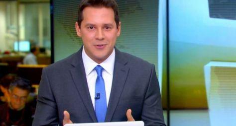 Jornal Hoje mantém boa audiência com estreia de Dony De Nuccio