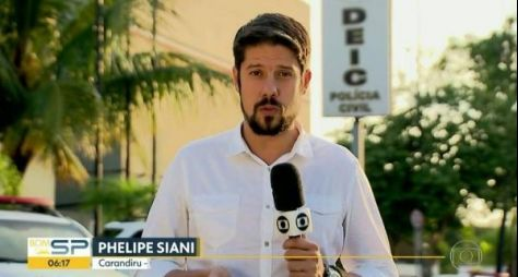Por falta de espaço no JN, Globo coloca Phelipe Siani em programa rural