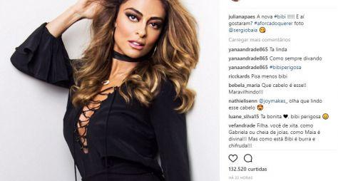 Juliana Paes muda o visual para nova fase de Bibi Perigosa