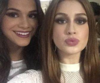 """""""Muito feliz!"""", diz Marquezine sobre parceria com Marina Ruy Barbosa"""