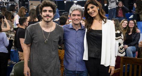 Caio Castro e Alcione são os convidados do Altas Horas