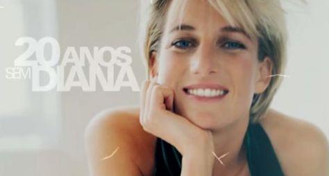 Fantástico lembra os 20 anos da morte da Princesa Diana