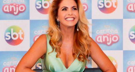 Lucero comemora 200 capítulos de Carinha de Anjo no SBT