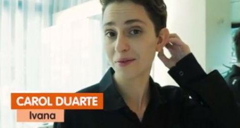 Carol Duarte diz que ainda não assinou contrato longo com a Globo