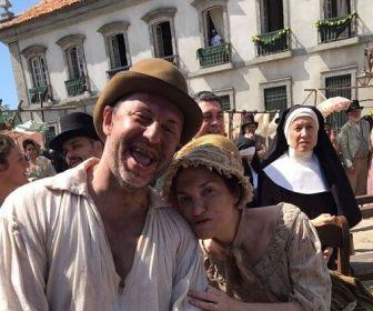 Autores de Novo Mundo gravam participação na cena final da novela