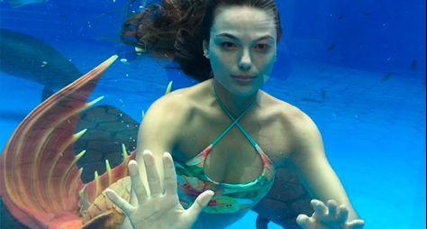 A Força do Querer: Ísis Valverde revela truque para gravações em aquário