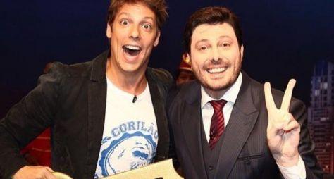 Porchat vai receber Danilo Gentili em seu programa na Record TV