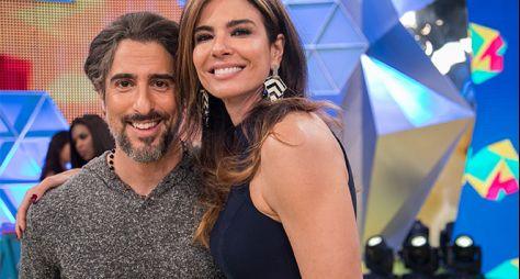 Luciana By Night estreia novo cenário com Marcos Mion