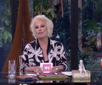 Ana Maria Braga reassume o Mais Você e desconversa sobre câncer