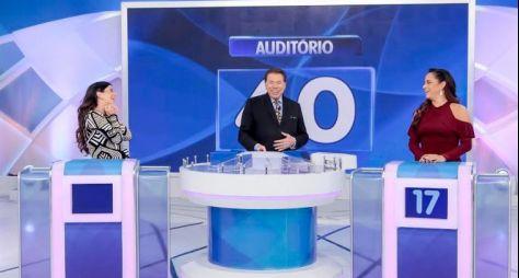 Filhas de Silvio Santos se enfrentam no Jogo das 3 Pistas
