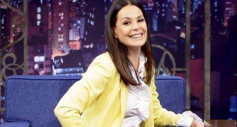 No Porchat, Carolina Ferraz diz que já foi convidada para nova novela da Globo