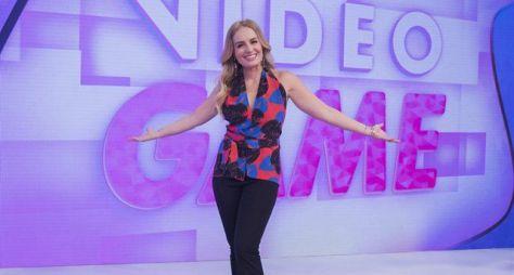 Angélica já iniciou gravações do Vídeo Game