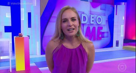 Vídeo Game, com Angélica, atrapalha audiência do Vídeo Show