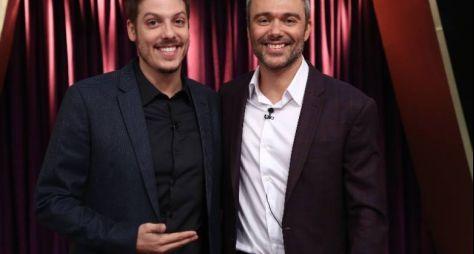 Programa do Porchat vence talk show do SBT e consolida o 2º lugar