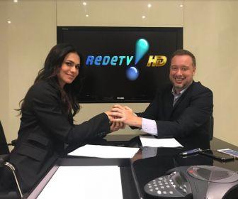 RedeTV! contrata Rosana Jatobá para núcleo de Jornalismo e Esportes