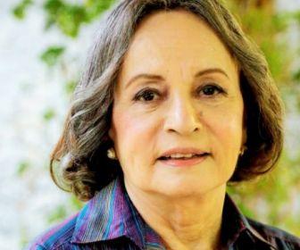 """""""Mais tarde faço uma novela com ele"""", diz Joana Fomm sobre Aguinaldo Silva"""