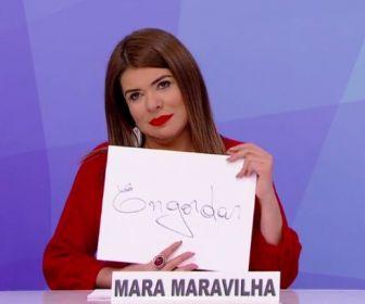 Mara Maravilha será convidada fixa do Jogo dos Pontinhos