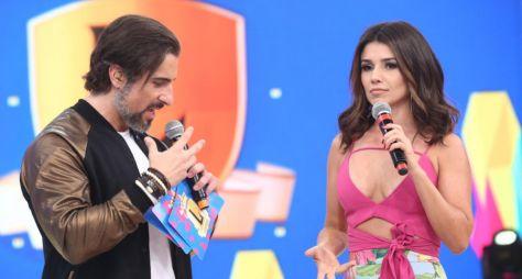 Paula Fernandes é desafiada por Marcos Mion no Legendários