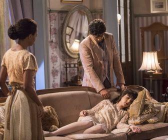 Tempo de Amar: Inácio não desiste de ir ao recital de Celeste Hermínia