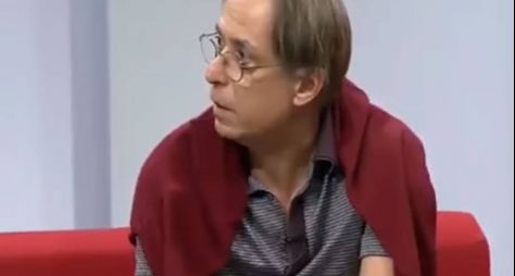 Ao vivo, Pedro Cardoso abandona gravação do Sem Censura