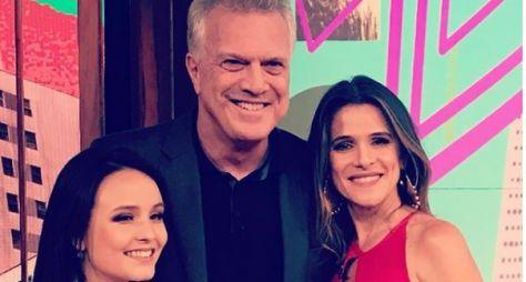 Conversa com Bial: Larissa Manoela grava entrevista na Globo