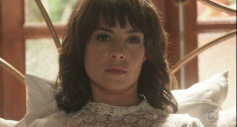 Tempo de Amar: Abandonada por Inácio, Lucinda fica furiosa