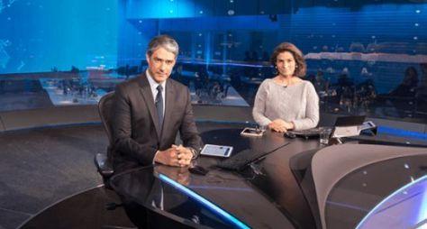 Jornal Nacional amplia vantagem sobre novela bíblica da Record TV