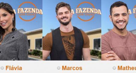 Flávia, Marcos e Matheus são os finalistas de A Fazenda: Nova Chance