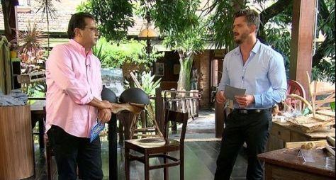 Geraldo Luís grava entrevista exclusiva com Marcos Harter
