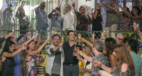 Pega Pega: Em clima natalino, casais se reconciliam e celebram na Vila da Tijuca