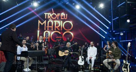 Domingão: Caetano Veloso recebe o Troféu Mário Lago