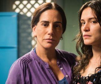 O Outro Lado do Paraíso: Duda se emociona ao saber que Clara é a sua filha