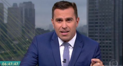Rodrigo Bocardi é favorito da Globo para lugar de Bonner