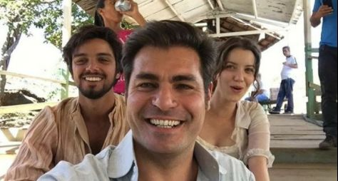 Atores gravam cenas de Orgulho e Paixão em Minas Gerais