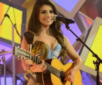 Paula Fernandes. Foto: TV Globo