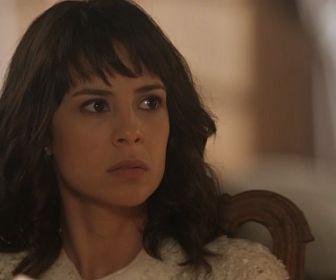 Tempo de Amar: Furiosa, Lucinda acusa Eunice de dar golpe da barriga em Reinaldo
