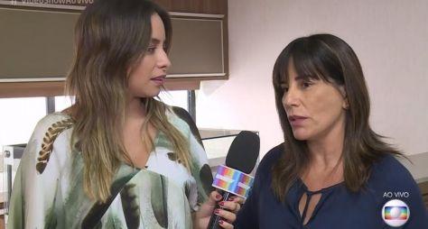 """""""Tô preparada para sofrer"""", diz Gloria Pires sobre destino de Duda em novela"""