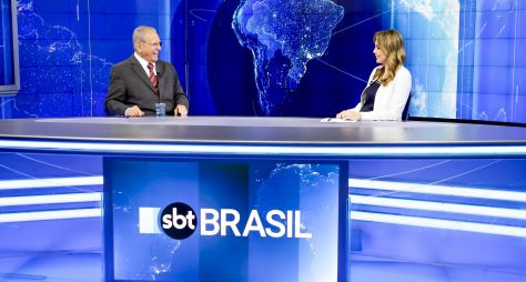 SBT Brasil é o telejornal mais visto fora da Globo