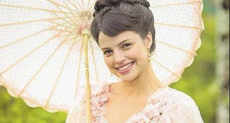 Orgulho e Paixão: Agatha Moreira aparece caracterizada de sua nova personagem