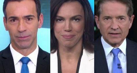 Medalhões do jornalismo da Globo vão perder supersalários